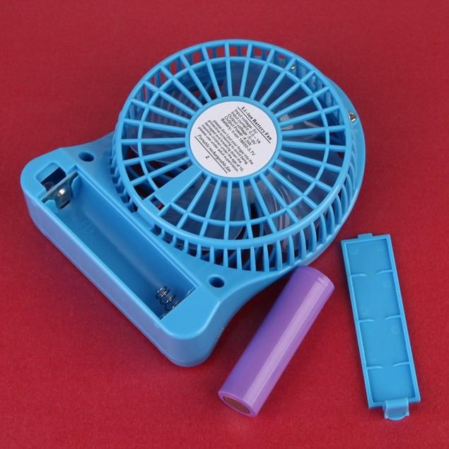 DWO Portable Mini USB Fan 3.7V Li-ion 2200mAh Battery