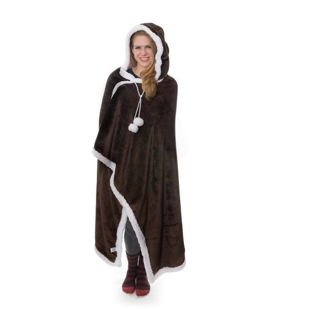 Kensie Sherpa-Lined Hoodie Robe (Assorted Colors)