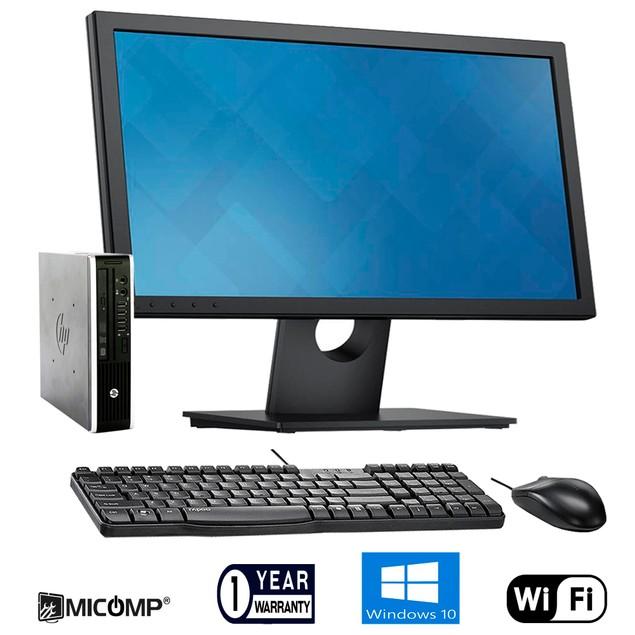HP Slim Desktop & LCD Bundle (Core i5 3.3GHz, 8GB RAM, 250GB Windows 10)