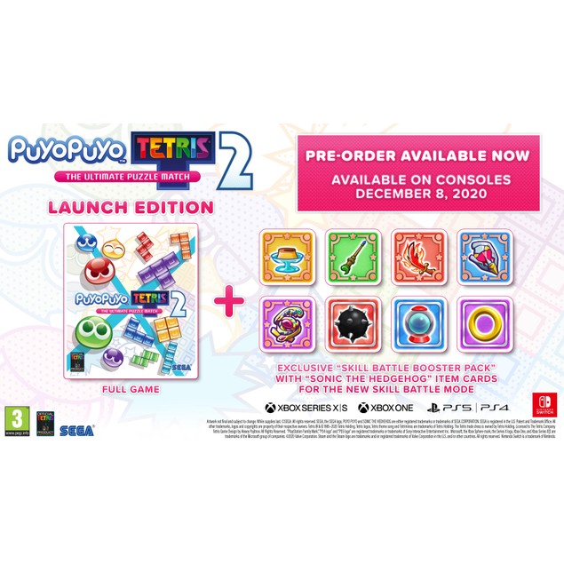 Puyo Puyo Tetris 2 PS4 Game