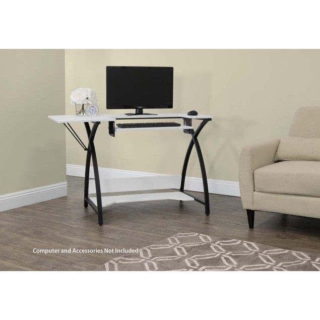 Studio Designs Comet Hobby and Sewing Table -  Black/White