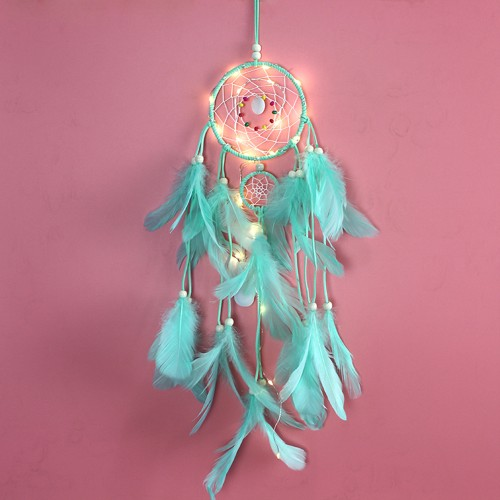 Light-up Feather Dream Catcher | 5 Colors