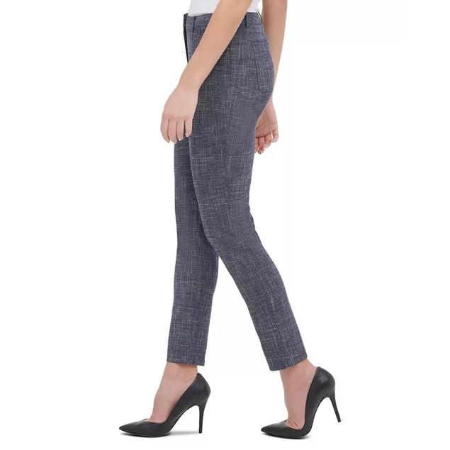 Tommy Hilfiger Women's Slim-Fit Pants Blue Size 8