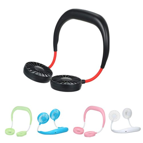 Personal Rechargeable Neckband Cooler/Fan- 3 Colors