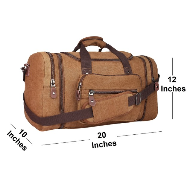 RusticTown Canvas Duffel bag