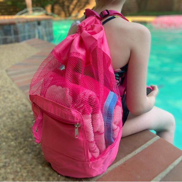 Foldable Kids Mesh Backpack | 2-Pack