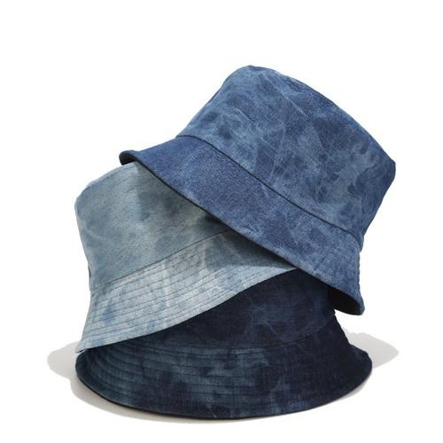 3-color Denim Double-sided Basin Hat