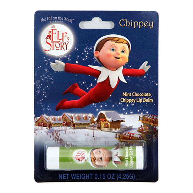Elf On The Shelf Mint Chocolate Chip Lip Balm Chapstick Christmas Xmas