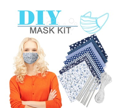 Self-Made Dust Mask Material Bag With Elastic Ear Cord Was: $15.99 Now: $9.99.