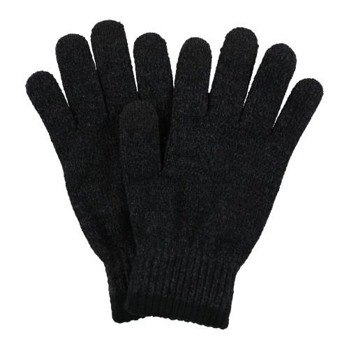Alfani Womens Knit Gloves Grey One Size Lt/Pas Gry Size Regular