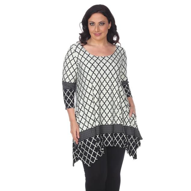 Plus Size Aicha Tunic Top - 2 Colors