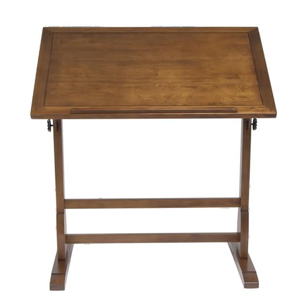 """Studio Designs Vintage 36"""" Drafting Table Rustic Oak"""