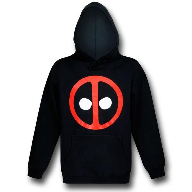 Deadpool Symbol Pullover Hoodie