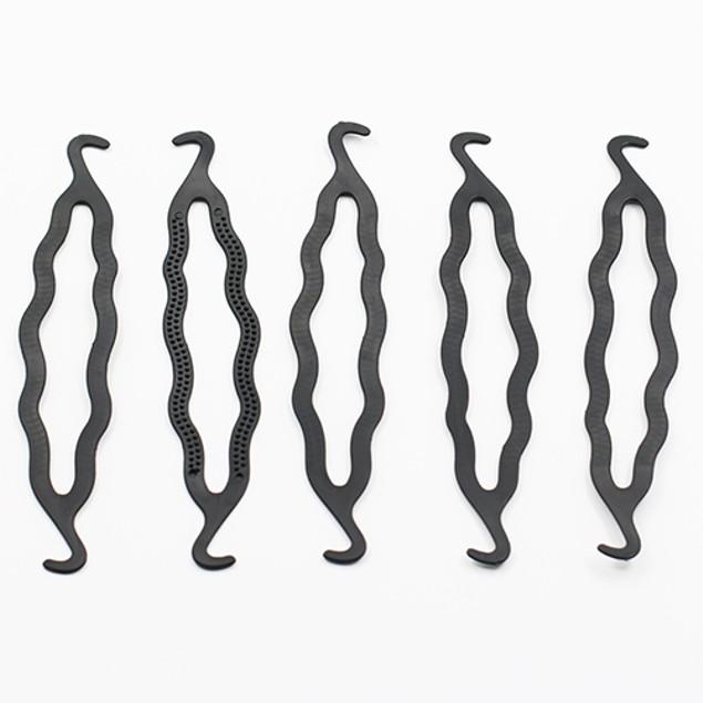 5 Pcs Hair Twist Styling Clip Stick Braid Tool