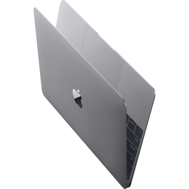 "Apple MacBook MLH72LL/A 12"" 256GB, Space Gray (Refurbished)"