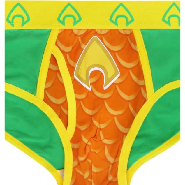 Aquaman Symbol Men's Underwear Fashion Briefs