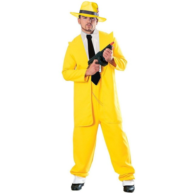 Yellow Zoot Suit Adult Costume