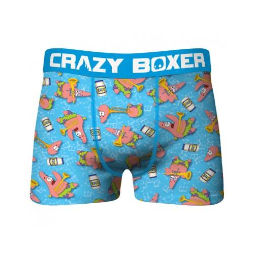 Crazy Boxers SpongeBob SquarePants Patrick Character All Over Boxer Briefs
