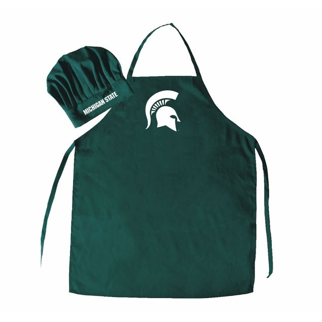 NCAA Michigan St Spartans Apron & Chef Hat