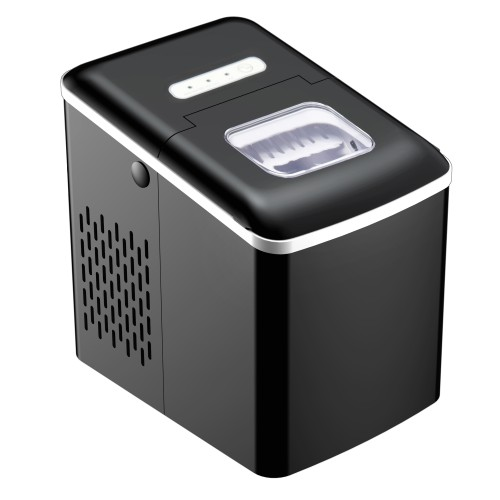Portable Ice Maker Automatic Cleaning 27lbs/24H Production Scoop Basket