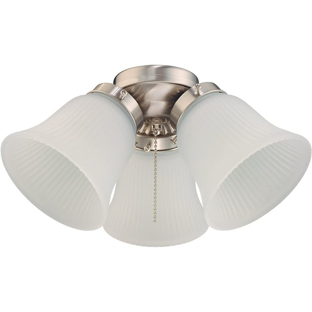 Westinghouse Lighting 3-Light Oil-Rubbed Brushed Nickel Ceiling Fan Light
