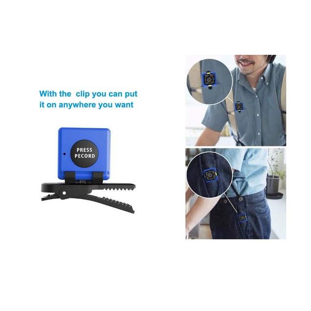 Cop Cam Wireless Hidden Mini Spy Camera Wireless With 8GB TF Card