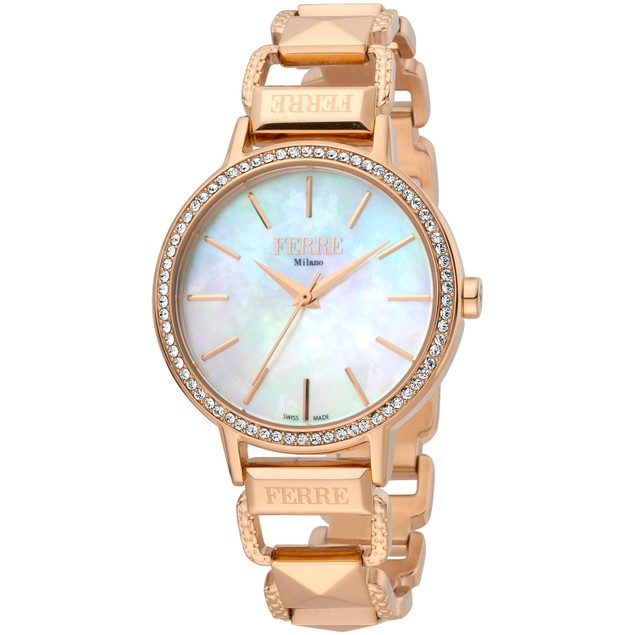 Ferre Milano Women's Classic Mother of pearl Dial Watch - FM1L173M0081