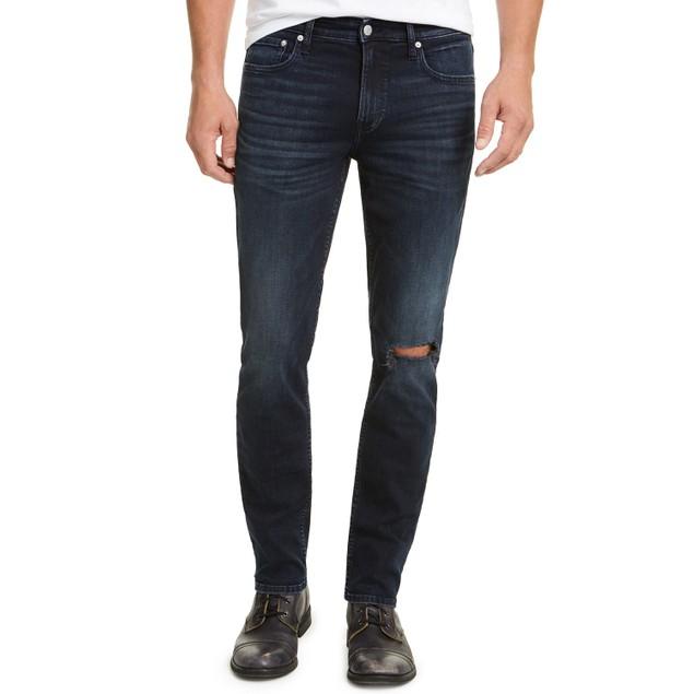 Calvin Klein Men's Slim-Fit RegencyDark Blue Size 36X32