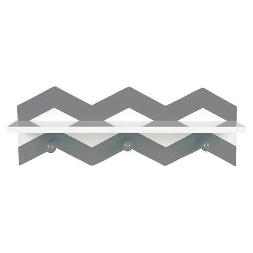 Trend Lab Gray Chevron Wall Shelf