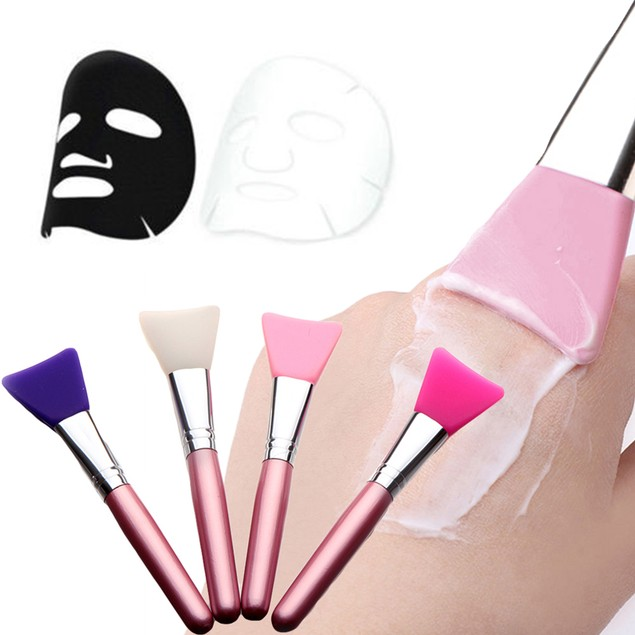 Flat Mask Brush Facial Mud Applicator Skin Face Care Cosmetic