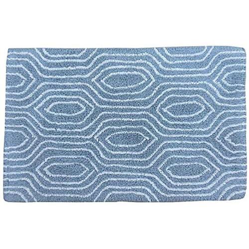 Spura Home Handmade Tan Wood Grain Pattern Bath Mat Set 17x24 & 24X32