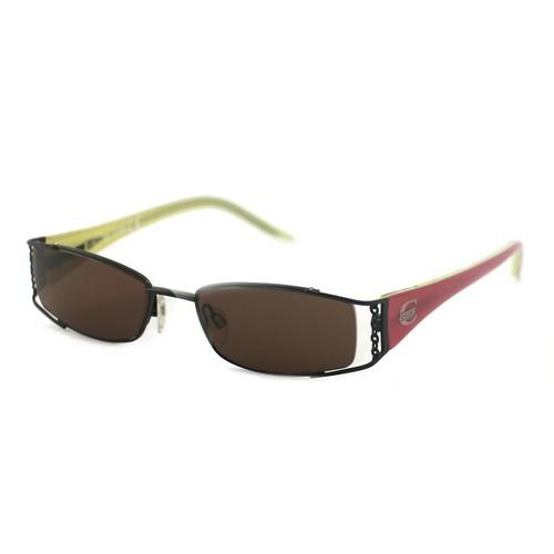 Just Cavalli Women's Sunglasses JC0168 0BR Black/Pink 51 18 135 Rectangular