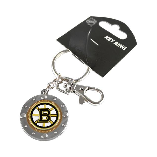 Boston Bruins NHL Impact Metal Key Ring Keychain