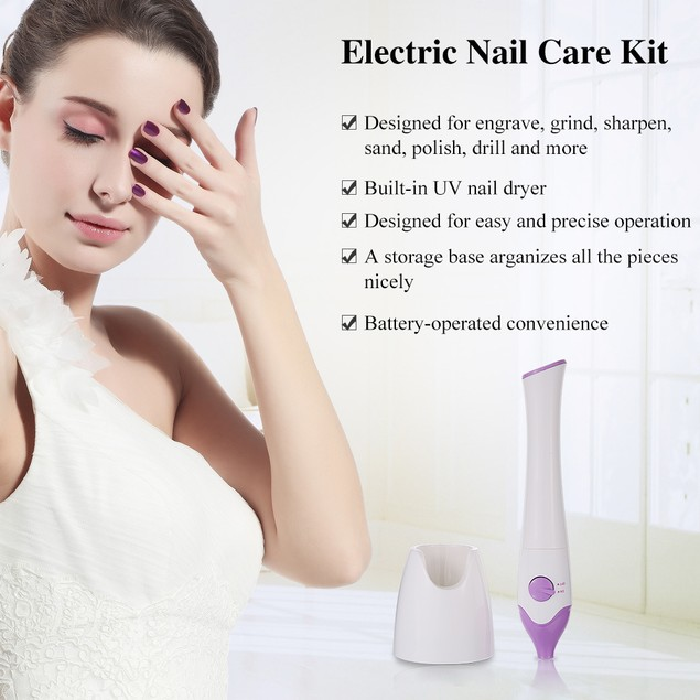 Touch Beauty 5-in-1 Manicure/Pedicure Set