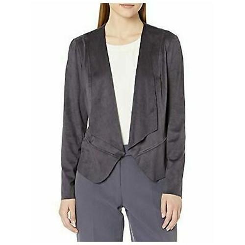 Anne Klein Womens Jacket Black Size Large