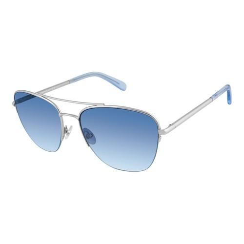 Rebecca Minkoff Women Sunglasses RMINDIO2GS 010 Palladium Navigator Gradient