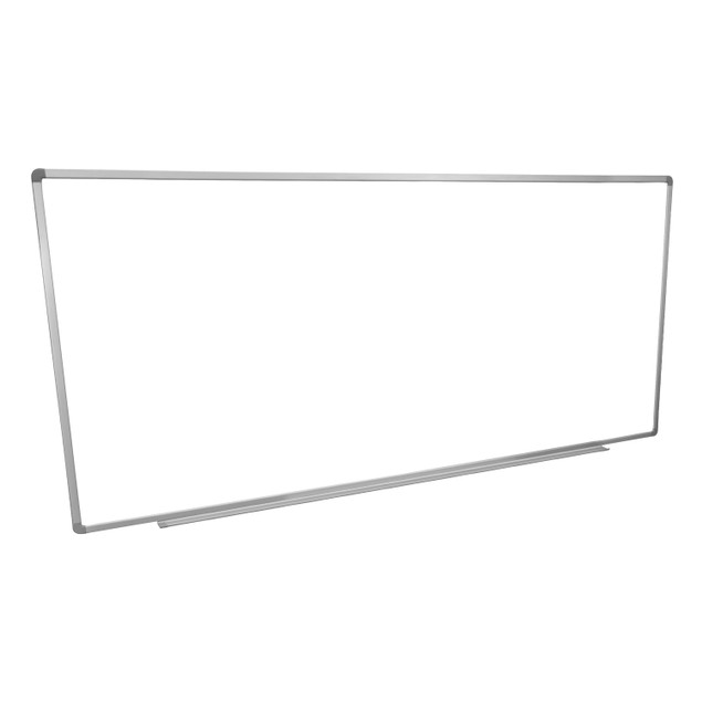 """Home Office  School 96""""W x 40""""H Wall-Mounted Magnetic Dry Erase Whiteboard"""