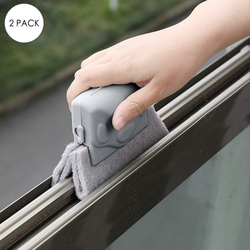 Window Track Groove Cleaner   2 Pack