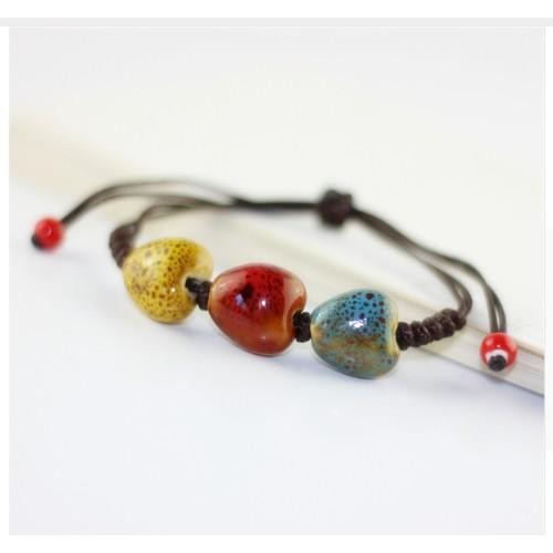 Ceramic Love Bangles Accessories Bracelets Vintage Jewelry