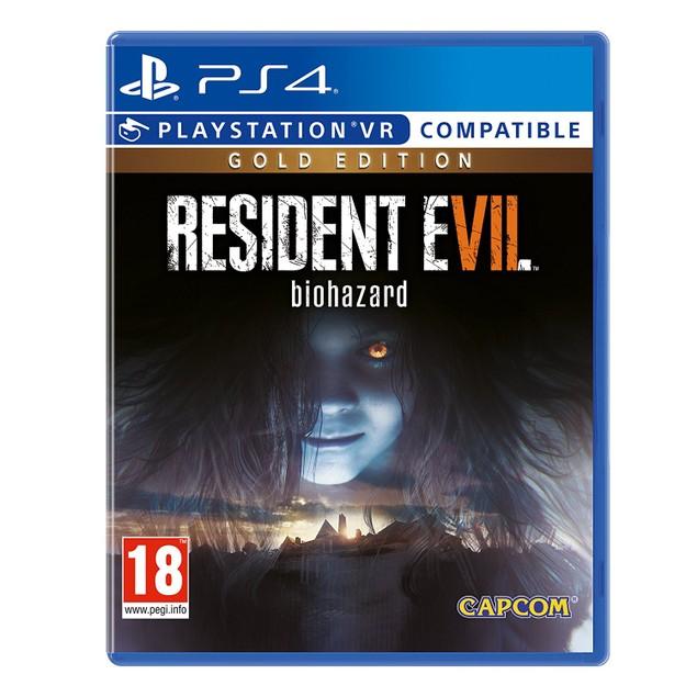 Resident Evil 7 Biohazard Gold Edition PS4 Game (PSVR Compatible)