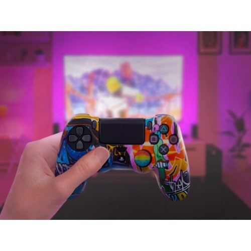 PS4 Silicone Cover & Thumb Grip Set - 5 Styles