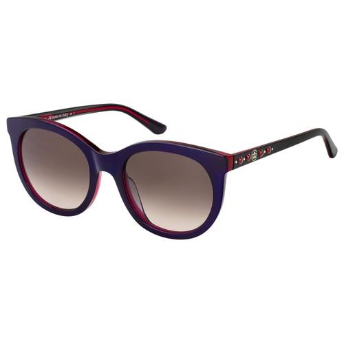 Juicy Couture Women Sunglasses JU608S 0365 Violet Fuchsia Rectangle Gradient