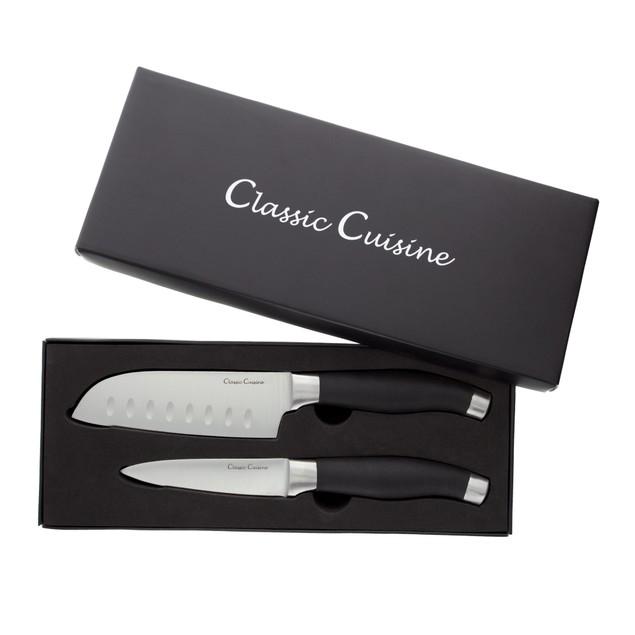 Knife Set- 5inch Santoku Knife 4inch Paring Knife