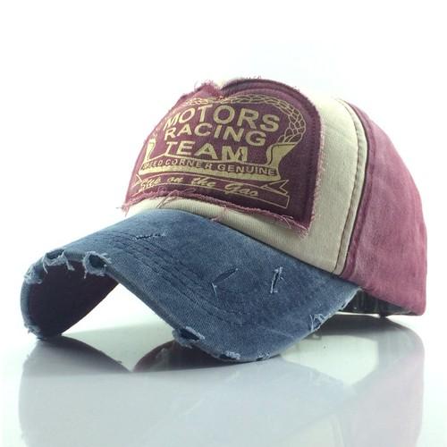 Ragged Cloth Baseball Cap Washed Cotton Outdoor Sun Hat