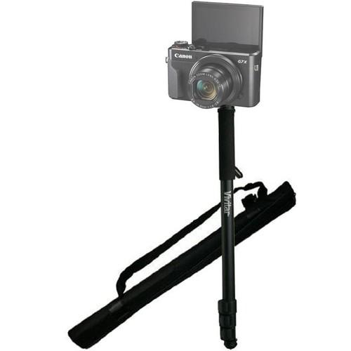 """62"""" Vivitar Monopod With Case for Canon G7 X Mark II G9 X Mark II Canon EOS M Digital Camera"""