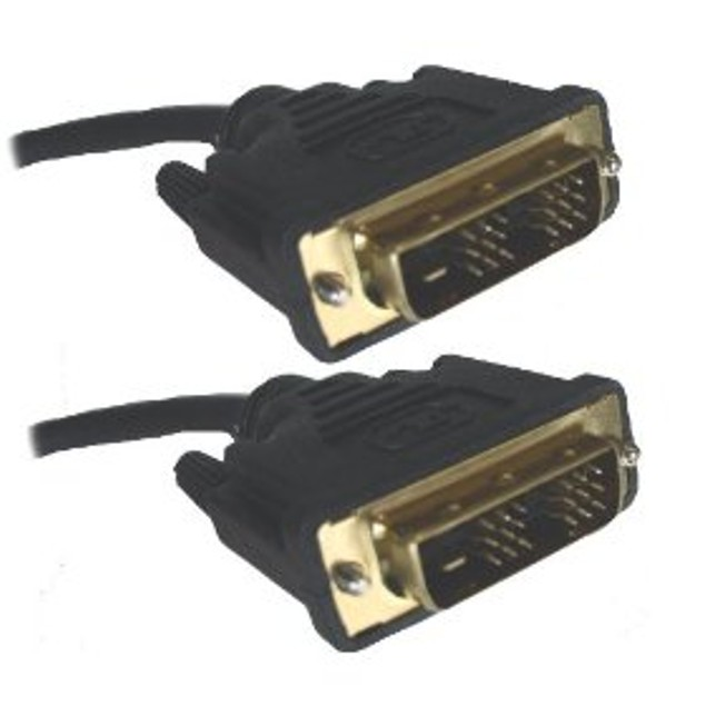 DVI (Digital Visual Interface) Dual Link Cable Male