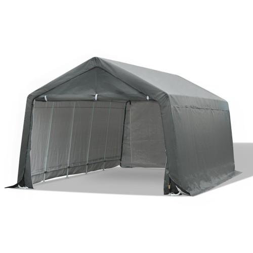 Heavy Duty Temporary Portable Truck SUV Garage Cover - Grey- 20' x 12'