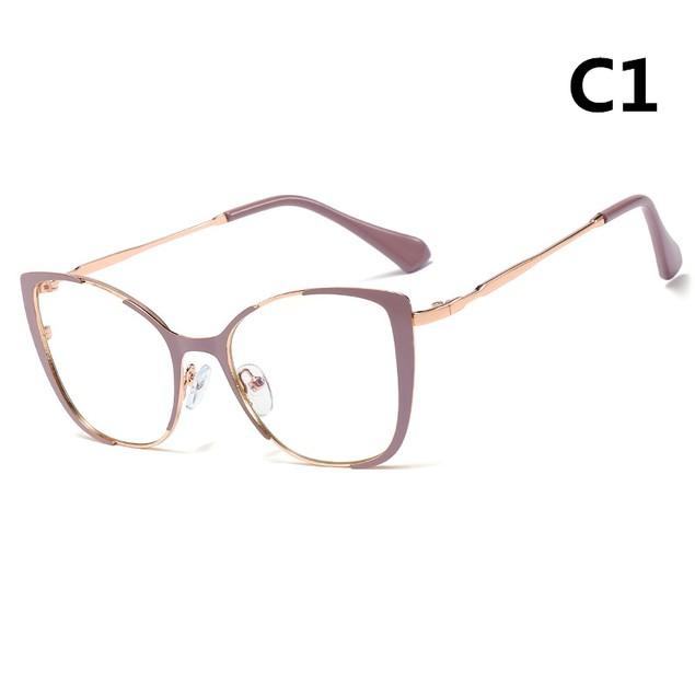 Metal Anti-Blue Light Goggles