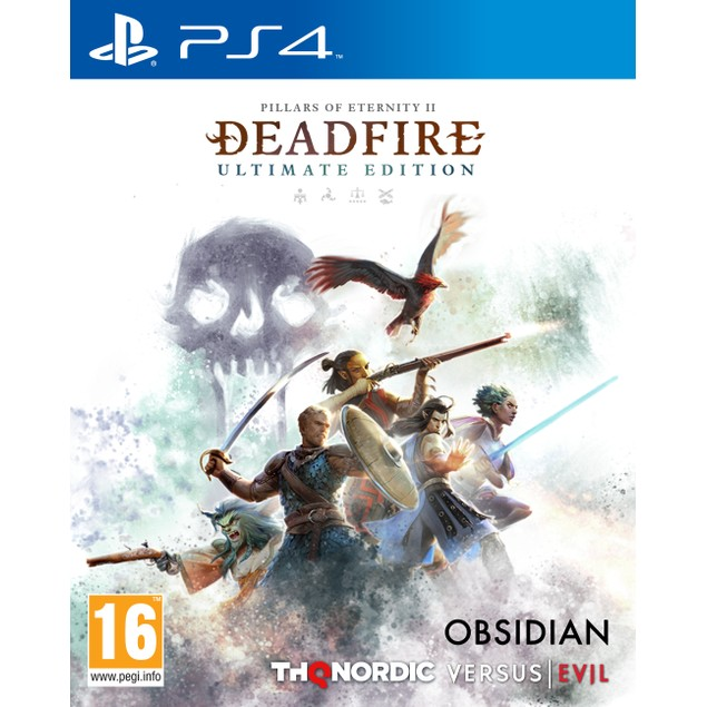 Pillars Of Eternity II Deadfire Ultimate Edition PS4 Game