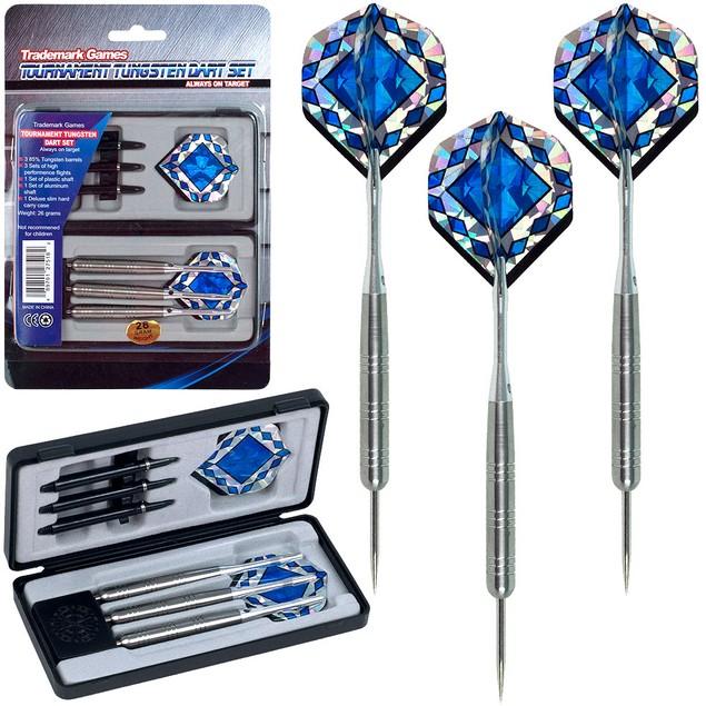 Tungsten Dart Set - 85% Tungsten - Pro Style Darts